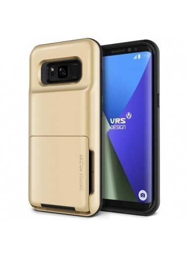 Galaxy S8 Plus Damda Folder Kılıf Shine Gold-Verus
